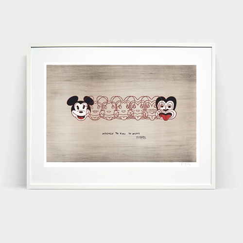 Mickey to Tiki by Dick Frizzell