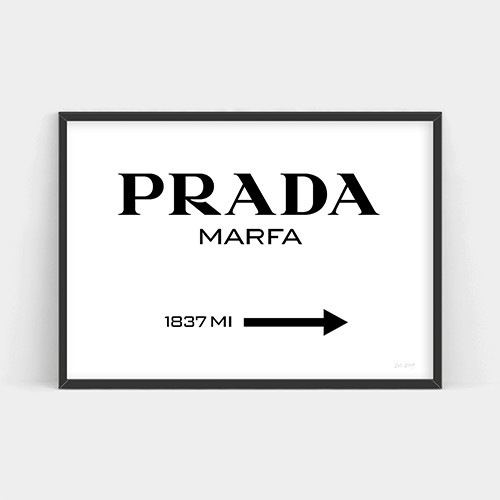 Prada Marfa by Simply Creative